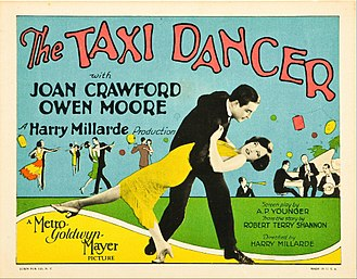 Taxi dancer - Lobby card for The Taxi Dancer (1927)
