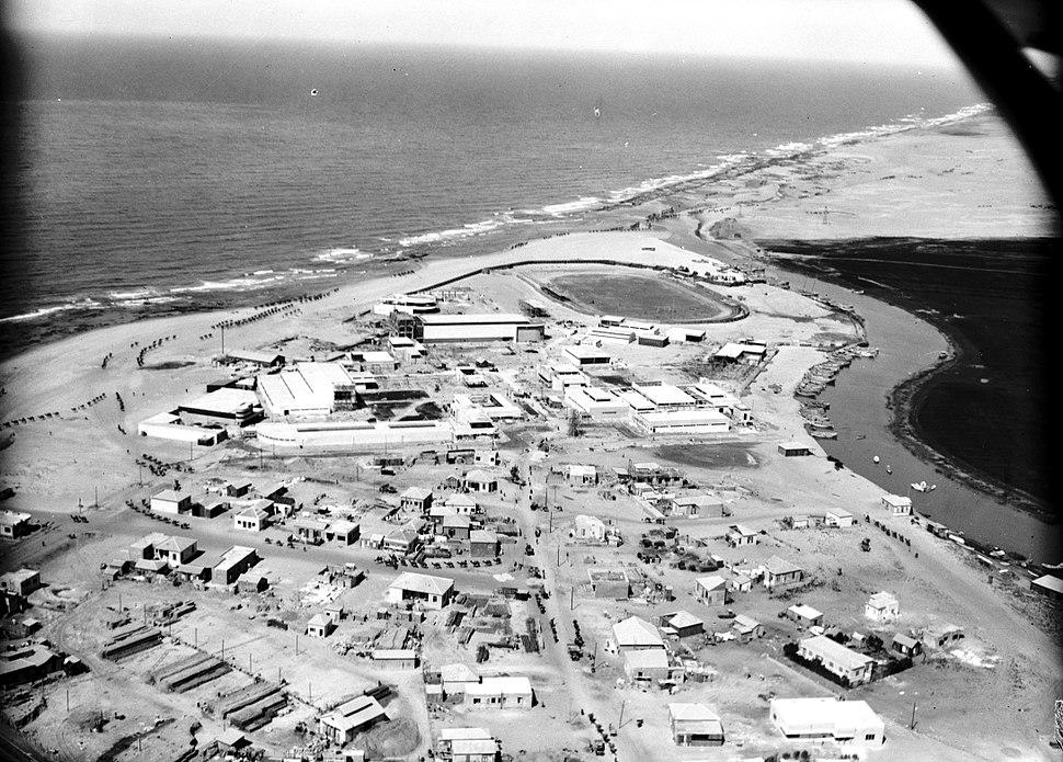 Tel Aviv 1920-1937 ירקון גמלים ופיתוח הצפון