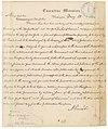 Telegram from President Abraham Lincoln to Major General John A. Dix, Commanding at New York, Regarding the New York World and New York Journal of Commerce - NARA - 5913128.jpg