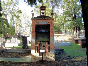 Temple of Peace (Toowong Cemetery) - Image: Temple Of Peace 2