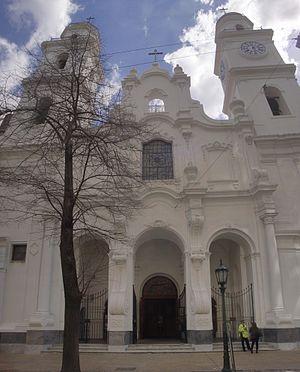 Saint Ignatius Church (Buenos Aires) - Image: Templo de San Ignacio Buenos Aires