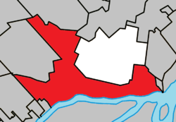 Location (red) within Les Moulins RCM.