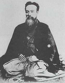 Yamaoka Tesshū Samurai of the Bakumatsu period