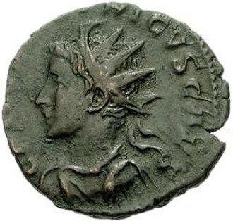 Tetricus I - Antoninianus of Tetricus II