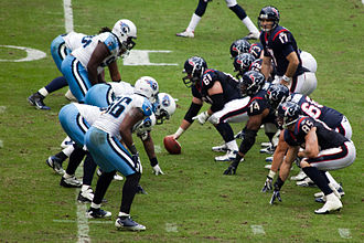 2011 Houston Texans season - Jake Delhomme and the Texans line up against the Titans
