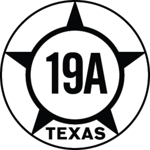 Texas State Highway 19 - Image: Texas Hist SH19A