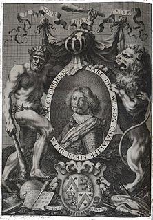 Marcus Vulson de la Colombière French heraldist, historian, courtier