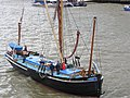 Thames barge parade - in the Pool - Gladys 6698.JPG