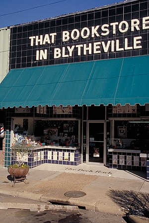That Bookstore in Blytheville is reputedly one...