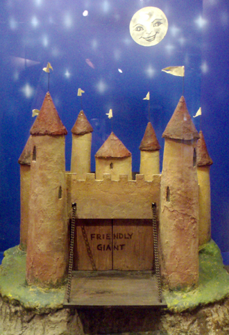 The Friendly Giant - The Friendly Giants model castle, used during the opening sequence