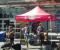 The 'Bearded Gypsies' perform at Buskerfest, 2014 08 24 -a (cropped).jpg