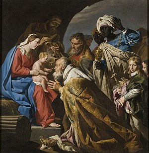 The Three Kings - The Adoration of the Magi by Matthias Stom