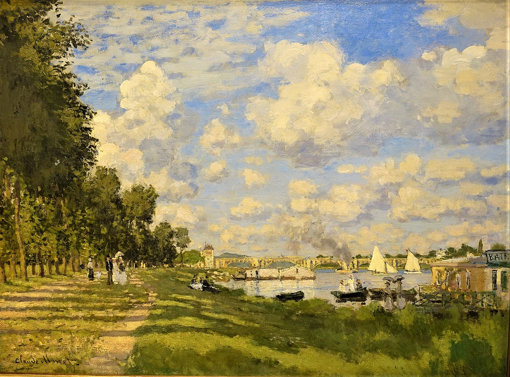The Basin at Argenteuil by Claude Monet - Musée d'Orsay, Paris