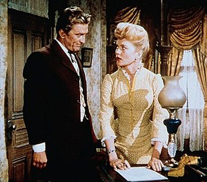Patrice Wymore - Wymore with Kirk Douglas in The Big Trees