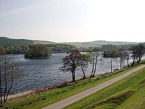 Inch, Dumfries and Galloway - Image: The Black Loch geograph.org.uk 461