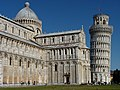 The Cathedral and the Leaning Tower in Pisa.jpg