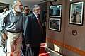 The Chief Justice of India Shri P. Sathasivam going round the photo exhibitions, on the occasion of 3rd National Photo Awards-2012 function held in New Delhi. The Secretary, Ministry of Information & Broadcasting.jpg