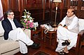 The Chief Minister of Jammu & Kashmir, Shri Omar Abdullah calling on the Union Home Minister, Shri Rajnath Singh, in New Delhi on June 20, 2014.jpg