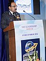The Chief of the Air Staff, Air Chief Marshal Arup Raha addressing the Air Warriors during the IAF seminar on Transformational Leadership, in New Delhi on December 15, 2016.jpg