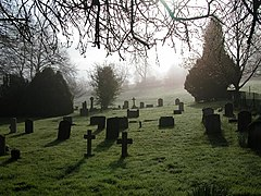 The Churchyard of St Simon and St Jude Bramdean - geograph.org.uk - 3805.jpg