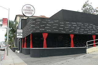 The Comedy Store comedy club on Sunset Strip in West Hollywood, California