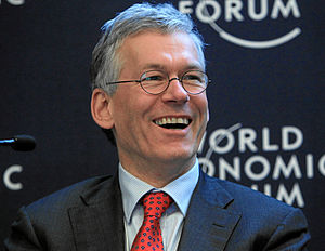 Frans van Houten - Frans van Houten at the World Economic Forum Annual Meeting in 2013