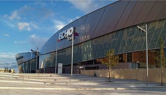 Liverpool Arena - The Echo Arena soon after completion (2008)