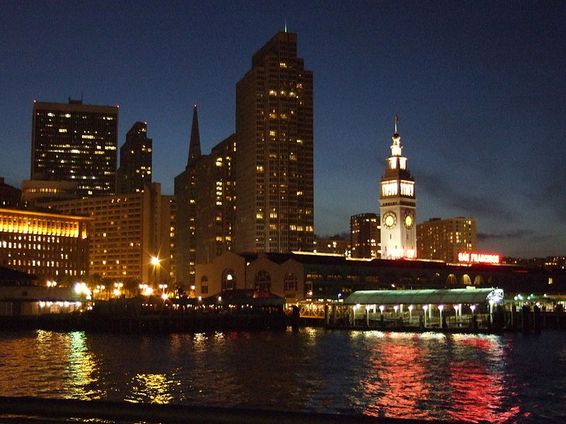 File:The Ferry Building Viewed from Pier 14.JPG