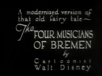 Restr:The Four Musicians of Bremen (1922).webm