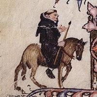 The Friar - Ellesmere Chaucer