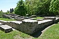 The Great Bath-House located in front of the Fort, built around 130 AD at the same time of the Cohort Fort, Saalburg Roman Fort, Limes Germanicus, Germania (Germany) (34637490861).jpg