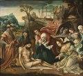 The Lamentation and the Entombment (Mästaren till 1518) - Nationalmuseum - 22371.tif