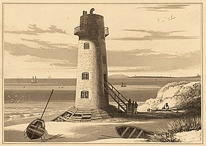 Point of Ayr - The Light-house on Point of Ayr, 1815