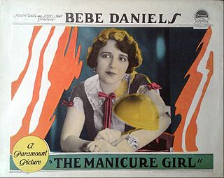 <i>The Manicure Girl</i> 1925 film by Frank Tuttle