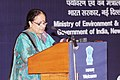 The Minister of State (Independent Charge) for Environment and Forests, Smt. Jayanthi Natarajan addressing at the International Ozone Day celebrations, in New Delhi on September 16, 2011.jpg