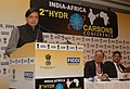The Minister of State for External Affairs, Dr. Shashi Tharoor delivering the valedictory address at 2nd India-Africa Hydrocarbons Conference, in New Delhi on December 08, 2009.jpg