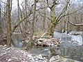 The Nanmor stream near Pont Talyrny - geograph.org.uk - 1043755.jpg