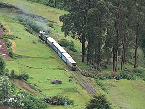The Nilgiris District - The Nilgiri Mountain Railway