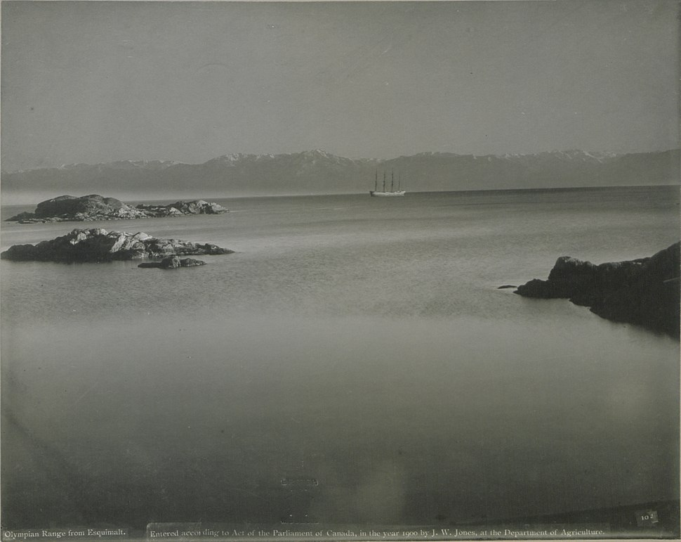 The Olympian Range, from Esquimalt (HS85-10-11325)