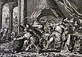 The Phillip Medhurst Picture Torah 307. The plague of frogs. Exodus cap 8 vv 1-7. Jan Luyken.jpg