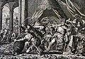 The Phillip Medhurst Picture Torah 307. The plague of frogs. Exodus cap 8 vv 1-7. Jan Luyken.jpg