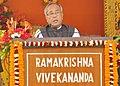 The President, Shri Pranab Mukherjee addressing at the closing ceremony of 150th Birth Anniversary celebrations of Swami Vivekananda, at Ramakrishna Vivekananda Mission Barrackpur, in Kolkata on January 19, 2013.jpg
