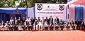 The President, Shri Ram Nath Kovind at the Platinum Jubilee Celebration of Karnataka Law Society & Raja Lakhamgouda Law College, at Belagavi, in Karnataka (1).JPG