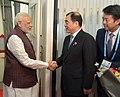 The Prime Minister, Shri Narendra Modi arrives at Xiamen Gaoqi International Airport for 9th BRICS Summit, in Xiamen, China on September 03, 2017 (1).jpg