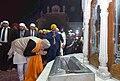 The Prime Minister, Shri Narendra Modi offering prayers at the Golden Temple, in Amritsar, Punjab on December 03, 2016 (1).jpg