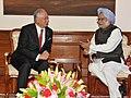 The Prime Minister of Malaysia, Mr. Mohammad Najib Abdul Razak meeting the Prime Minister, Dr. Manmohan Singh, in New Delhi on December 20, 2012.jpg