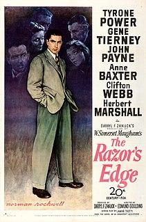 <i>The Razors Edge</i> (1946 film) 1946 film by Edmund Goulding