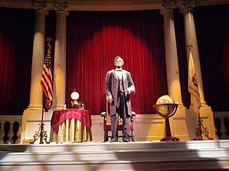 Great Moments with Mr. Lincoln - Image: The Robot, Great Moments with Mr Lincoln