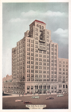 The Senator Circa Late 1930s Early 1940s Png Hotel In Atlantic City