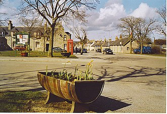Stuartfield - Image: The Square, Stuartfield